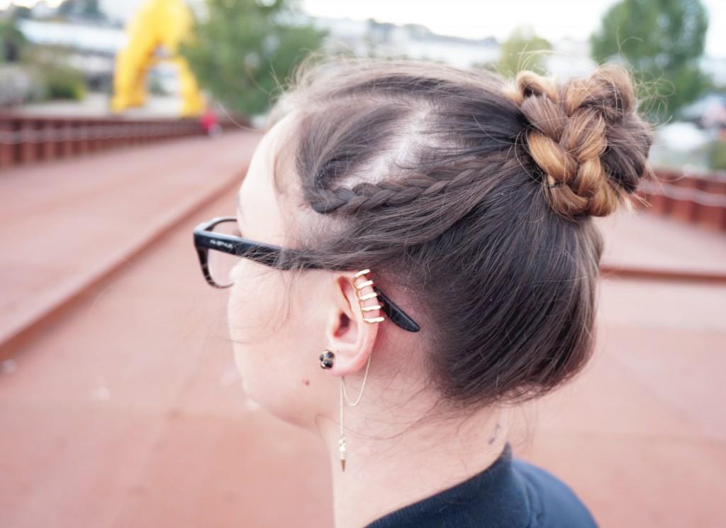 hairstyle bun
