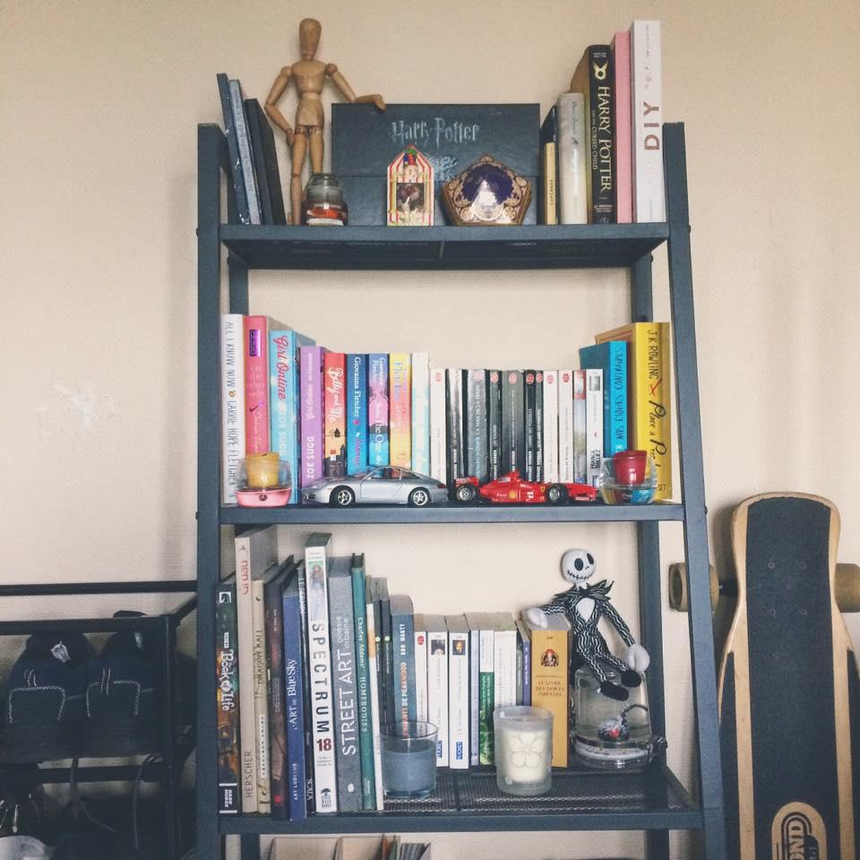 bibliothèque couple