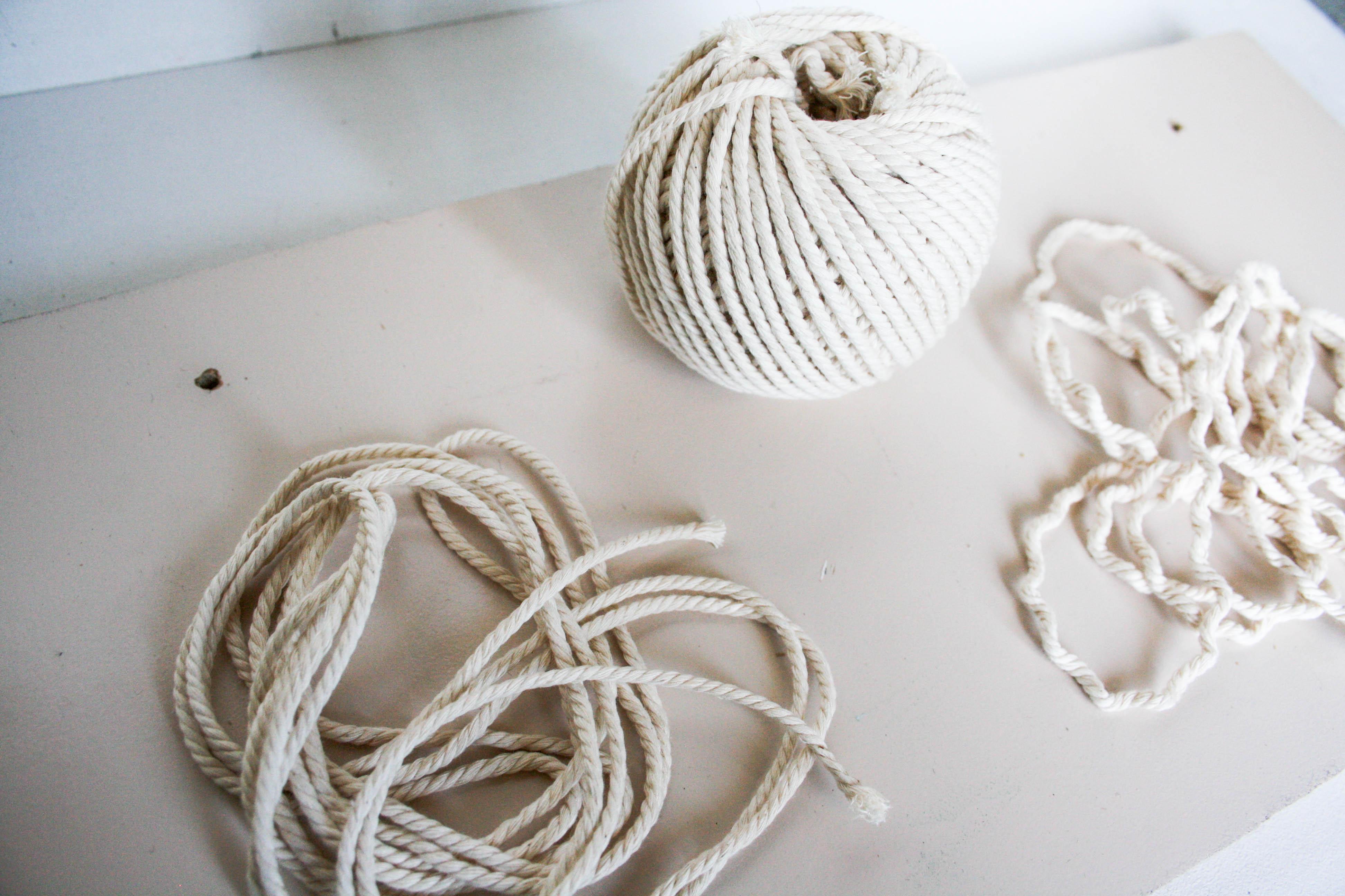 corde etagere suspendue