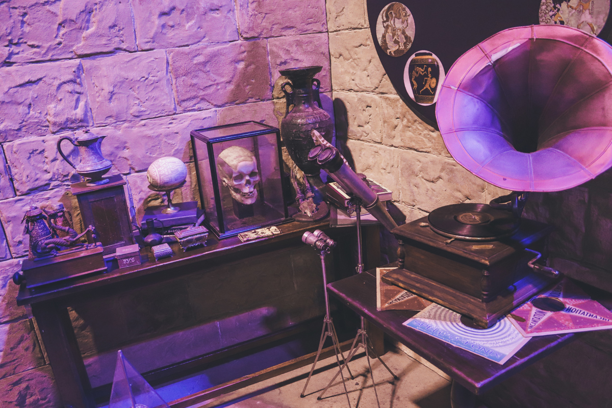 studio harry potter bureau lupin