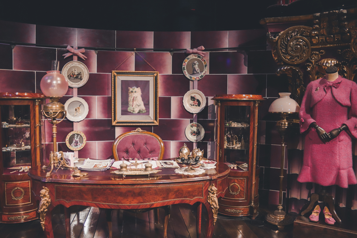 studio harry potter bureau ombrage