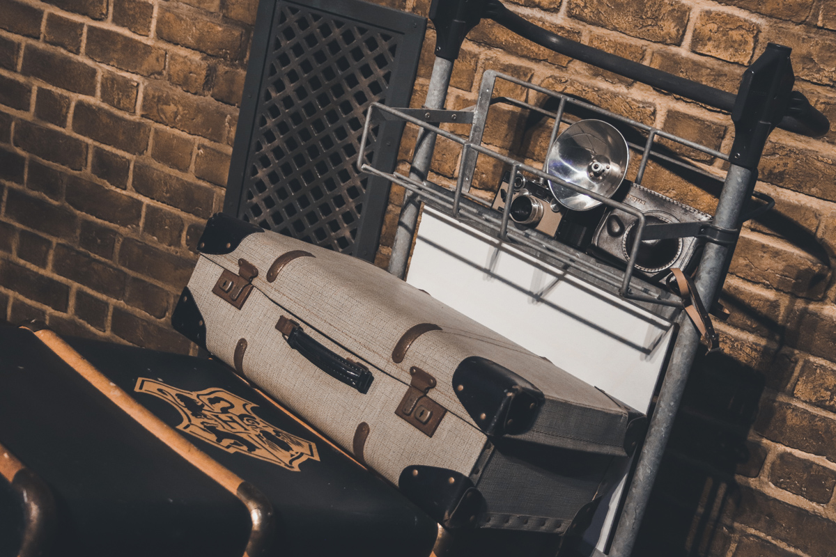 studio harry potter valise colin
