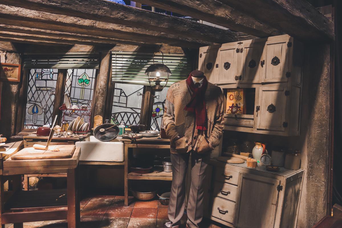 studio harry potter cuisine weasley