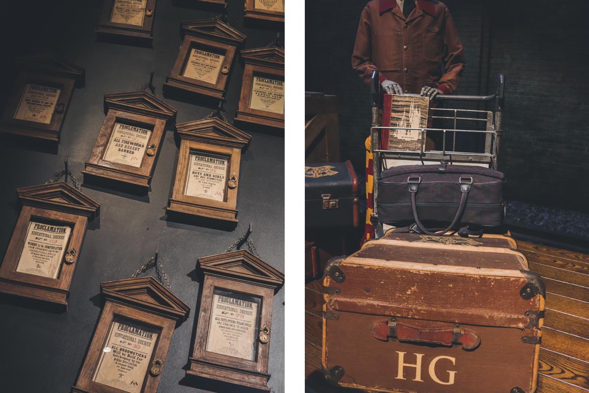 studio harry potter decret valise