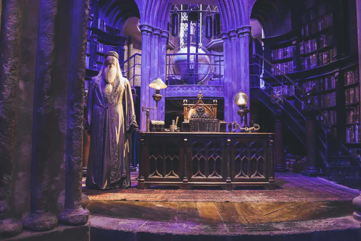 studio harry potter bureau dumbledore
