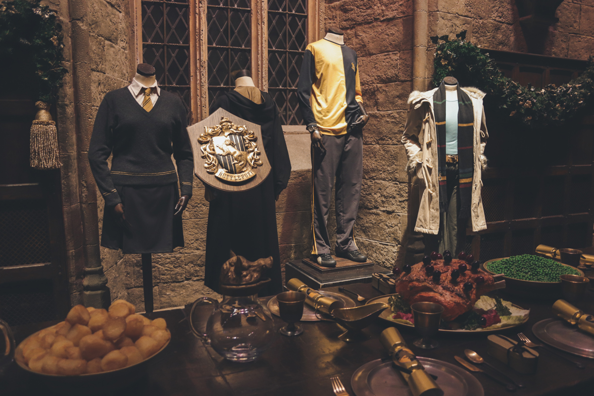 Visite du studio harry potter de londres aurora borealis for Salle a manger harry potter