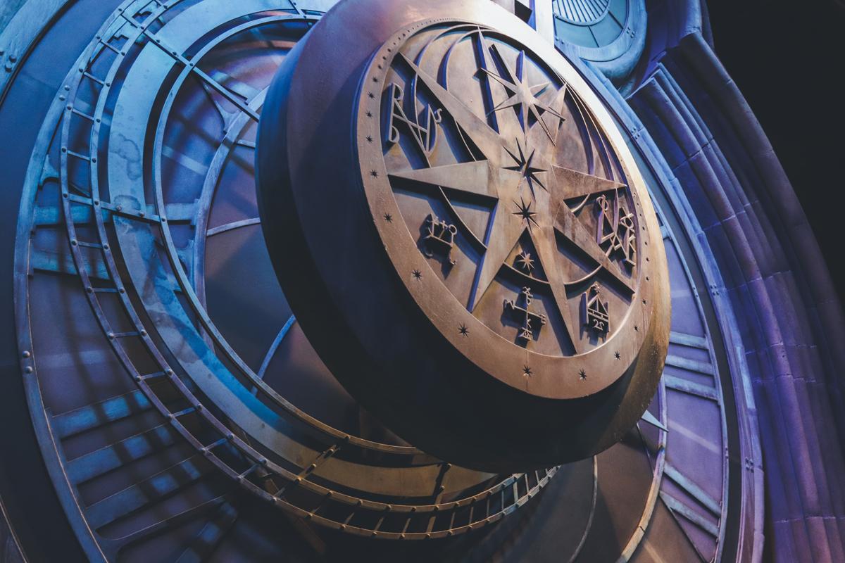 studio harry potter horloge
