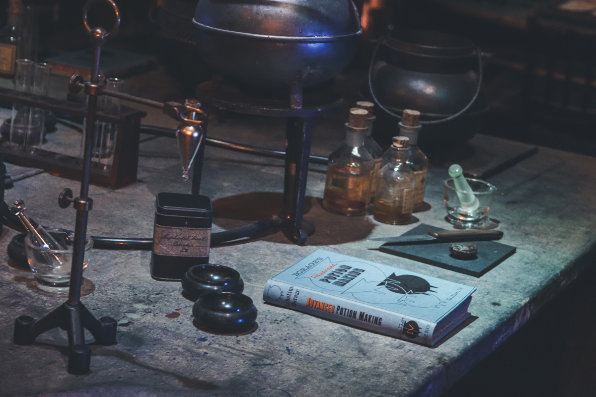 studio harry potter manuel potion