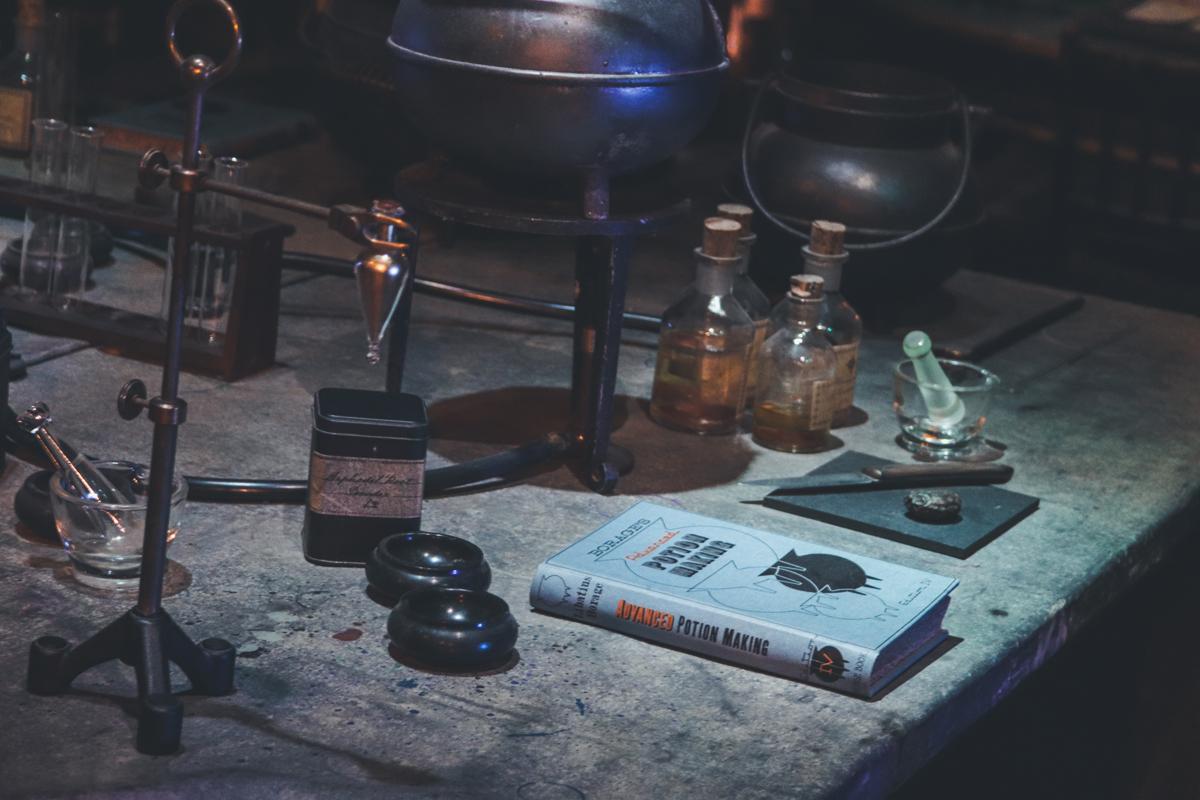 studio harry potter manuel potion