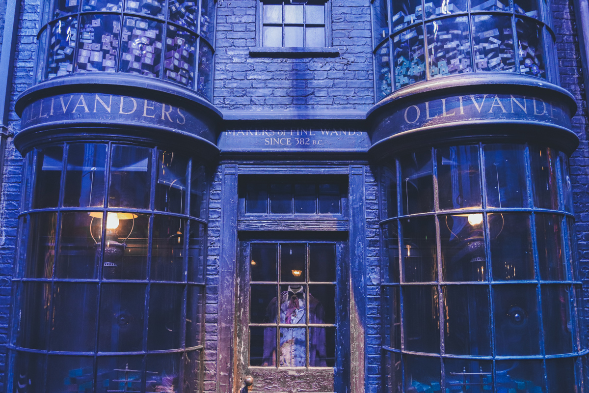 studio harry potter ollivanders