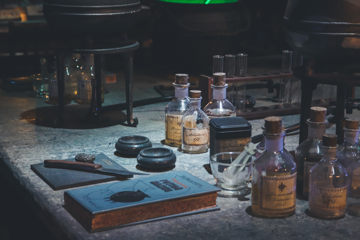 studio harry potter potion